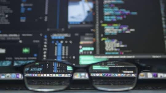 Фотография программного кода