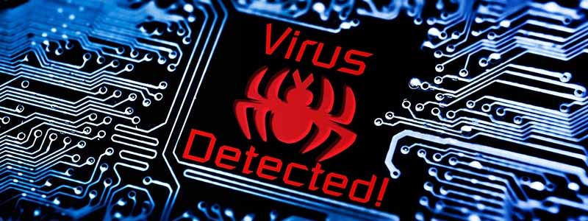 Главный процессор иллюстрация вируса