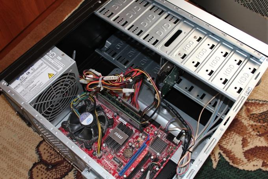 чистка компьютера фен
